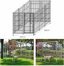 Azimuthbrico - Box per cani singolo da esterno