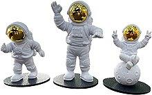 B Blesiya 3 pz Astronauta Figurina Statua,