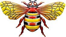 B Blesiya Creativo Bee Wall Art Ornamenti Scultura