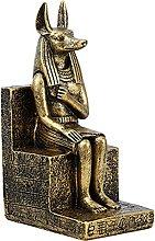 B Blesiya Egitto Anubis Statua Figurina Egizia