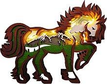 B Blesiya Figurine di Cavallo Scultura Della