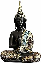 B Blesiya Meditazione Tailandese del Buddha Statua