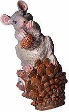 B Blesiya Realistico Topo Mouse Statua Scultura