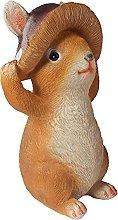 B Blesiya Resina Giardino Statua Coniglio Animale