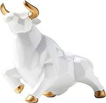 B Blesiya Toro Scultura Bue Ornamento Figurina