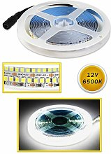 B&s - Striscia strip led luce fredda 5m flessibile