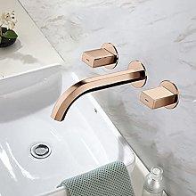 Bacino del bagno rubinetto del bagno spazzolato