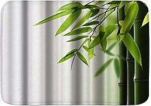 Bagno Bath Mats, verde bambù, ultra morbida
