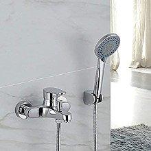 Bagno doccia doccia rubinetto triplo rame doccia se