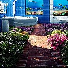 Bagno Europeo Personalizzato 3D Pavimento Murale