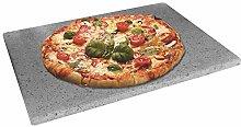 BAKAJI Teglia per Pizza in Pietra Lavica dell'
