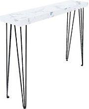 Bakersfield - Tavolo consolle in legno effetto