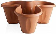 Bama 30000 Vaso per Piante, Terracotta, 30x40x16 cm