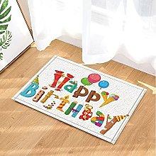 Bambino buon compleanno titolo palloncino gelato
