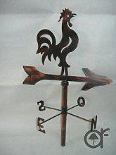Banderuola Galletto segnavento grande in ferro