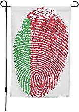Bandiera Bielorussia da giardino, 30 x 40 cm,