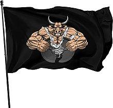 Bandiera da giardino, 1,5 x 0,9 m, forte toro