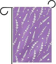 Bandiera da giardino 12x18 pollici,Decorazioni dei