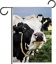 Bandiera da giardino 28x40 pollici,Cow Cow.