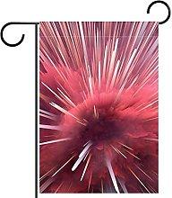 Bandiera da giardino 28x40 pollici,Universo