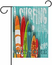 Bandiera da Giardino 30×45cm,Tavola da surf