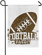 Bandiera da Giardino 30×45cm,Tempo di football