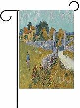 Bandiera da Giardino 70×102cm,Fattoria Van Gogh