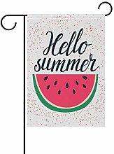 Bandiera da Giardino 70×102cm,Frutta anguria