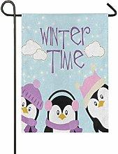 Bandiera da Giardino 70×102cm,Pinguino divertente