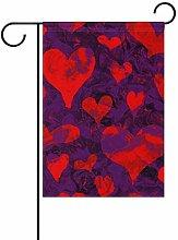 Bandiera da Giardino 70×102cm,San Valentino