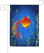 Bandiera da giardino, 71 x 101,6 cm, motivo oceano