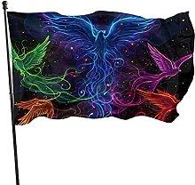 Bandiera da giardino, 9 x 1,5 m, cielo pieno di