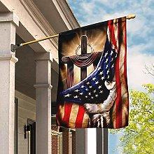 Bandiera da Giardino 90 x 150 cm, Bandiera Croce