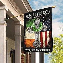 Bandiera da Giardino 90 x 150 cm, Irish di Blood