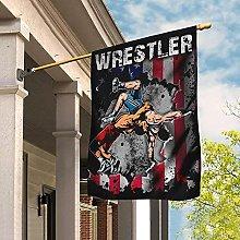 Bandiera da Giardino 90 x 150 cm, Wrestler