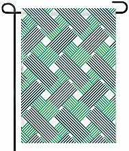 Bandiera da Giardino a Doppia Faccia 12,5 'x