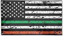 Bandiera da Giardino,Bandiera Americana Irlandese