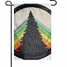 Bandiera da Giardino Bandiera Arcobaleno Patch