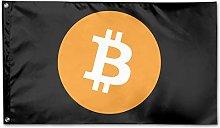 Bandiera da Giardino,Bandiere per Esterni Bitcoin