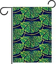Bandiera da giardino bifacciale /12x18inch/