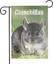 Bandiera da giardino Chinchilla House Yard Banner