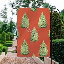 Bandiera da giardino con design natalizio con
