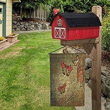 Bandiera da giardino con farfalle, 30 x 40 cm,