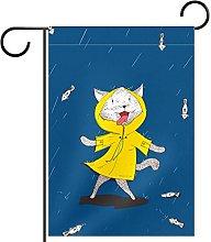 Bandiera da giardino con stampa a pioggia,