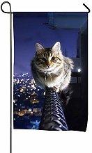 Bandiera da Giardino Decorativa per Gatti per
