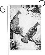 Bandiera da giardino Grouse On Pine House Yard