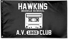 Bandiera da Giardino,Hawkins Middle School Outdoor