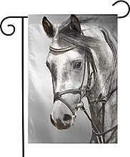 Bandiera da giardino Horse House Yard Banner per