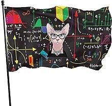 Bandiera da giardino matematica Bandiera da