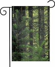 Bandiera da giardino Natura Green Forest House